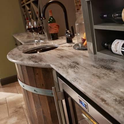 Corian Kitchen Counter Top