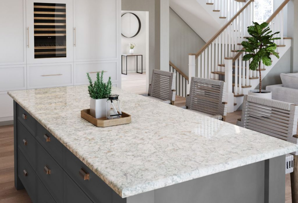 Cambria Trafalgar style kitchen counter top